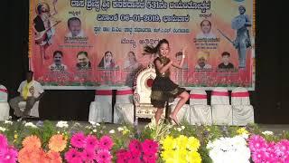 Thras akkathi dance performance