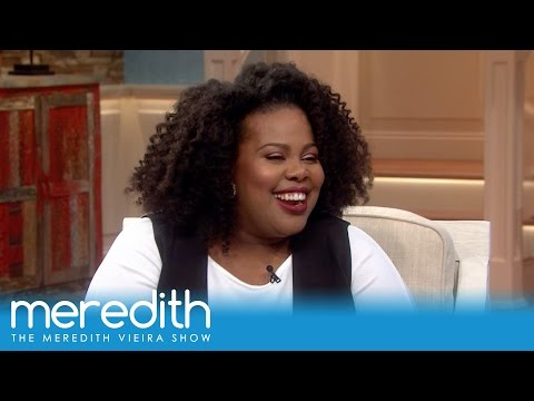 Amber Riley's Job Before 'Glee'! | The Meredith Vieira Show