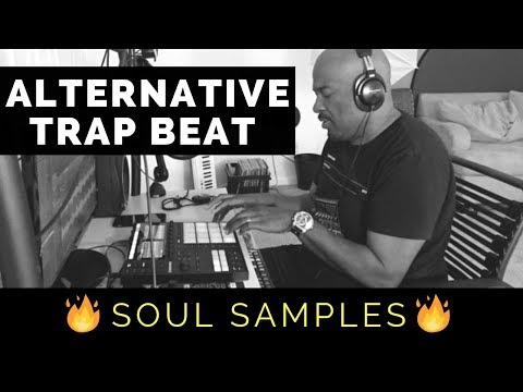 Making A Dope Alternative Trap Beat With Maschine MK3  Soul Sample Pack Review