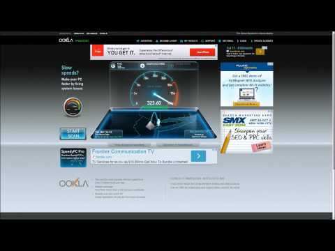 Internet Speed Test 300 mbps, Time Warner Cable