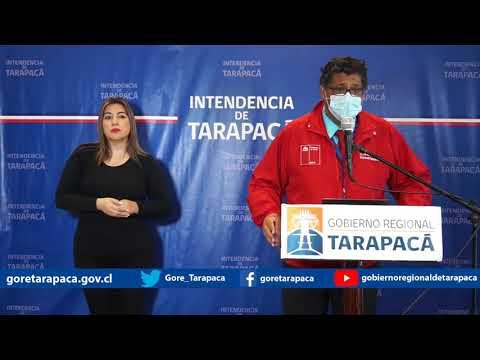 Punto de prensa 24 de julio de 2020 - Gobierno Regional de Tarapacá
