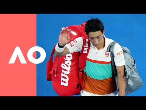 Nishikori's night ends in pain (QF) | Australian Open 2019