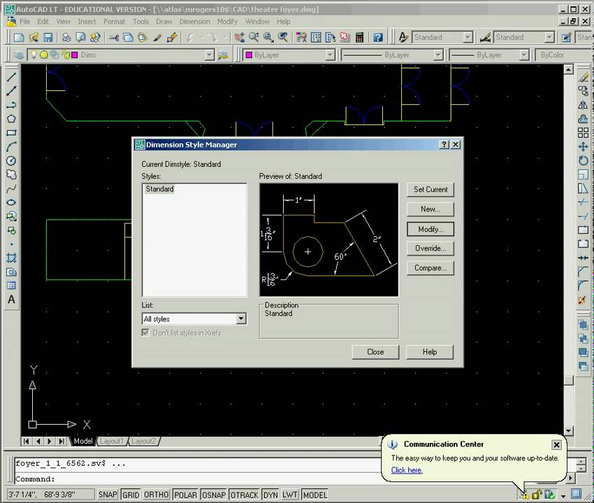 Change Dimension Text Sizes for AutoCAD LT - YouTube