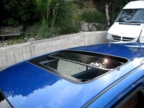 Toyota Yaris Power Sunroof Youtube