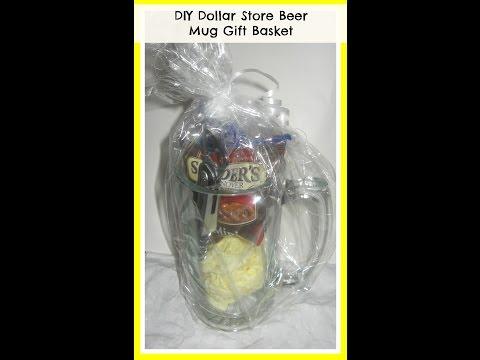 How to make a Beer Mug Gift Basket/ DIY Valentine's GIFT IDEAS/ DIY/ Handmade Gifts for Men