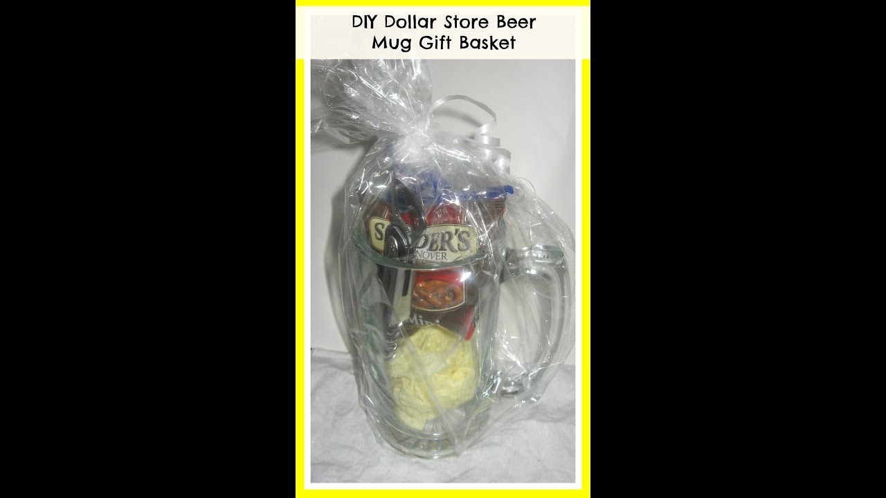 How To Make A Beer Mug Gift Basket Diy Valentine S Gift Ideas Diy