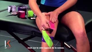 Soutien complet du genou - KT TAPE France (Full Knee Support)
