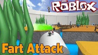 💣 ATOM BOMBASI 💣 / 💩 Roblox Fart Attack 💩 / Roblox türkçe