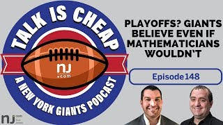 Playoffs? Giants believe even if mathematicians wouldn't
