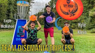 PLAYING ALTERNATE HOLE TRIPLES WITH EAGLE MCMAHON & KYLE KLEIN!! (new disc announcement)