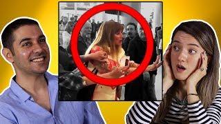Yetişkinlerin Tepkisi Mart  Nisan Viral Videoları