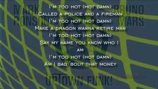 Mark Ronson & Bruno Mars - Uptown Funk (English Subtitles)(Subtitulos En Español)