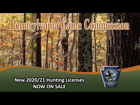 New 2020/21 Hunting Licenses NOW ON SALE!