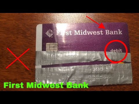 ✅  First Midwest Checking Bank Debit Card Review 🔴