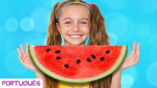 Você gosta de milho com melancia – Canção Infantil   Música para crianças por Sunny Kids Songs
