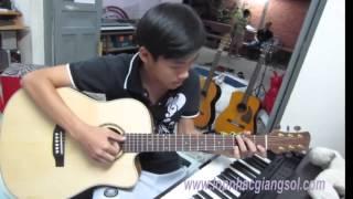 Dấu mưa guitar cover