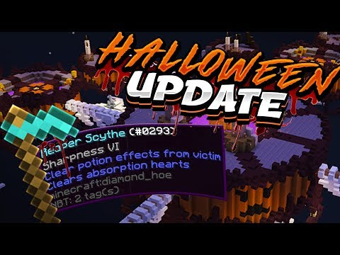 My FIRST REACTION To The NEW HALLOWEEN SKYWARS UPDATE!