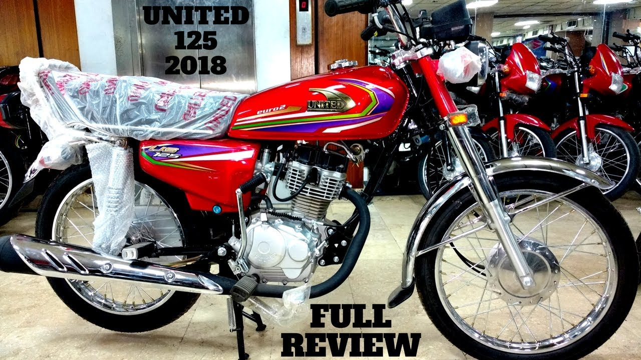 United 125 New Model 2018 Full Review On Pk Bikes Youtube