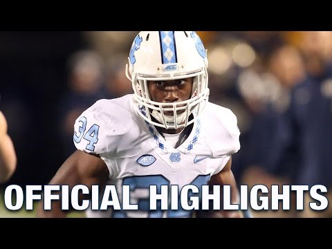 Elijah Hood Official Highlights | North Carolina Running Back