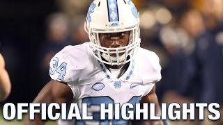 Elijah Hood Official Highlights | North Carolina Running Back