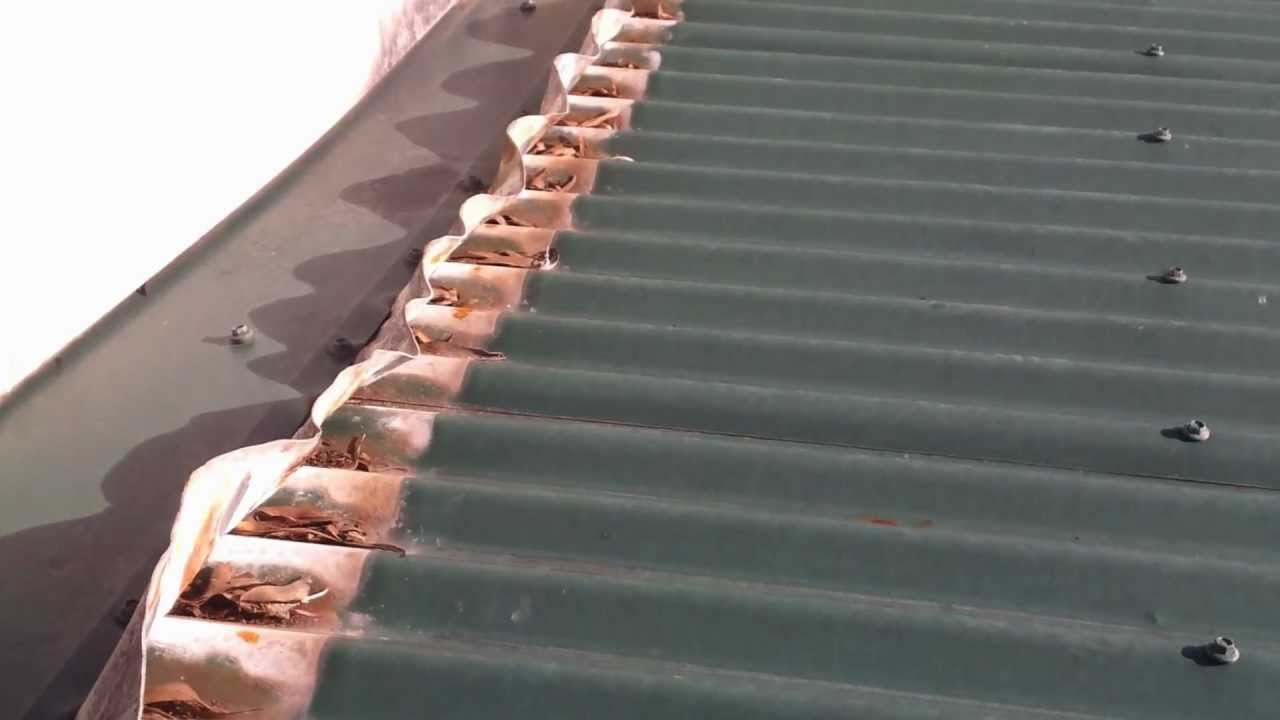 Charming Sydney Colorbond Roof Galvanic Corrosion Caused By Lead Flashing   YouTube