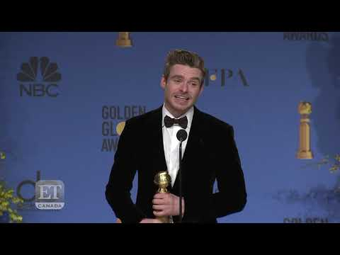 'Bodyguard' Richard Madden Backstage At 2019 Golden Globes