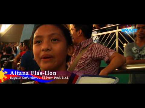 Aitana Flas-Ilon (Baguio Defenders) Silver Medallist - MVP Best Of The Best Taekwondo