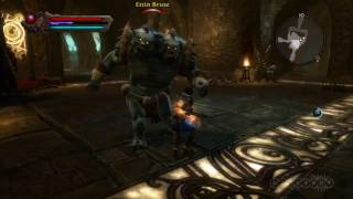 Dungeons - Kingdoms of Amalur: Reckoning Gameplay (Xbox 360)