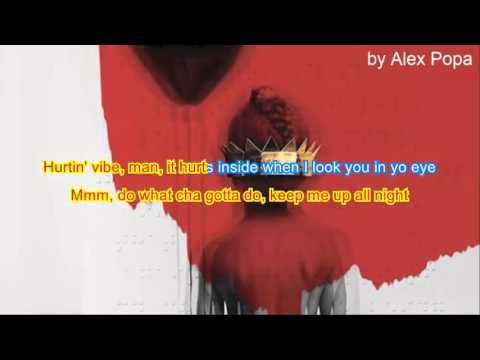 Rihanna - Kiss it better Karaoke Lyrics...