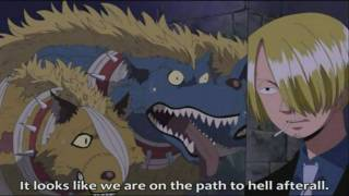 Funny Zombie Scene (One Piece) HD