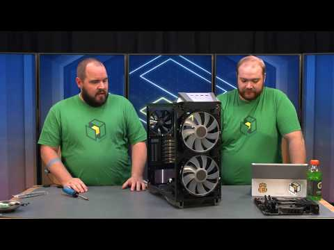 Cooler Master MasterCase H500P Build - i7-8700K / GTX 1080 Ti (Livestream Archive)