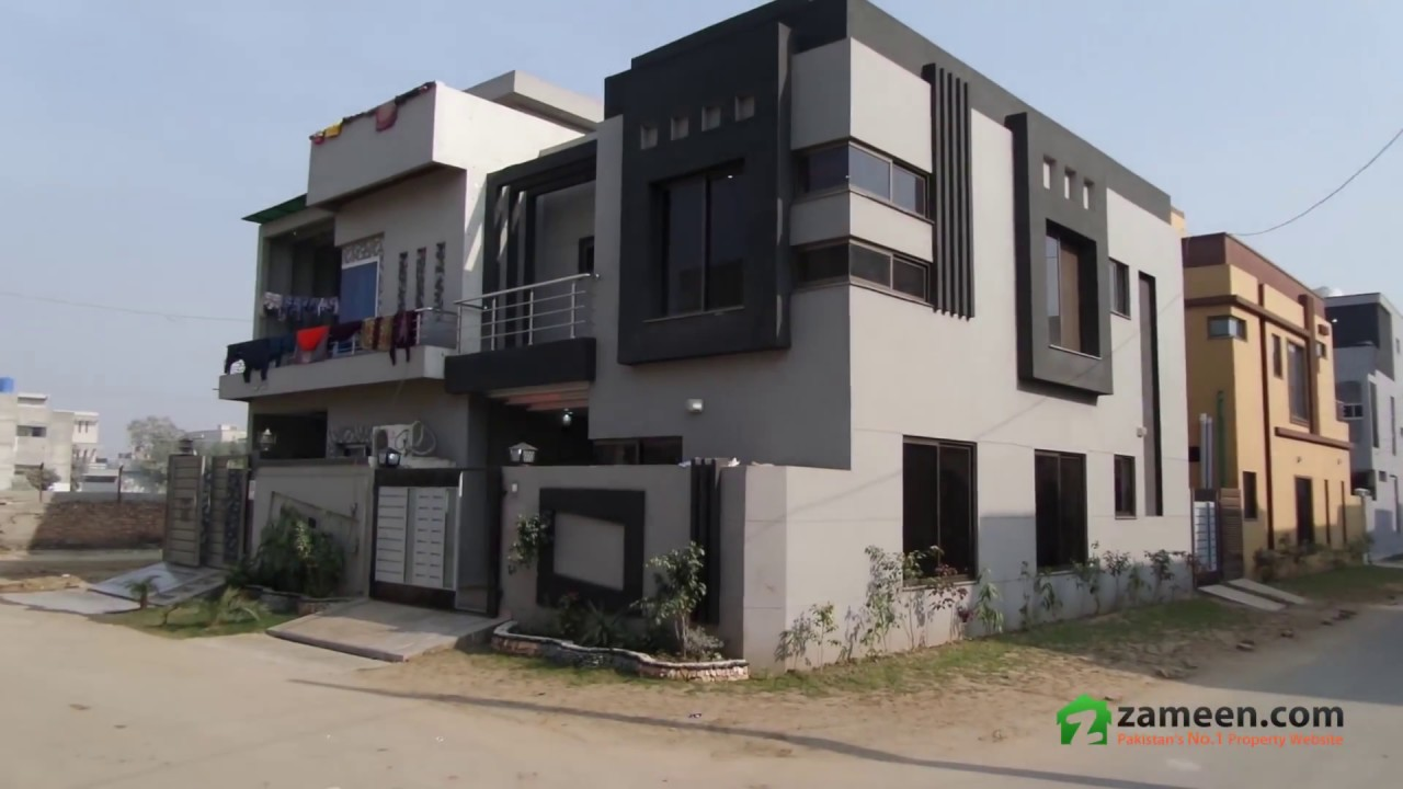 Double storey house is available for sale in pak arab society phase 1 block a lahore