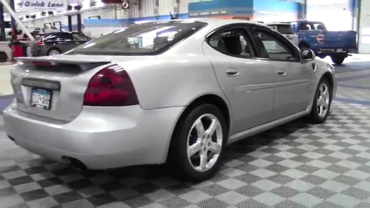 2008 pontiac grand prix gxp 2g150105b