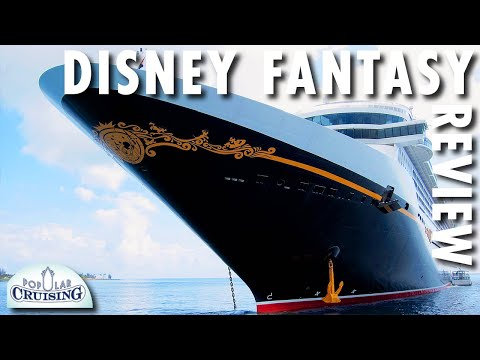 Disney Fantasy Tour & Review ~ Disney Cruise Line ~ Cruise Ship Tour & Review