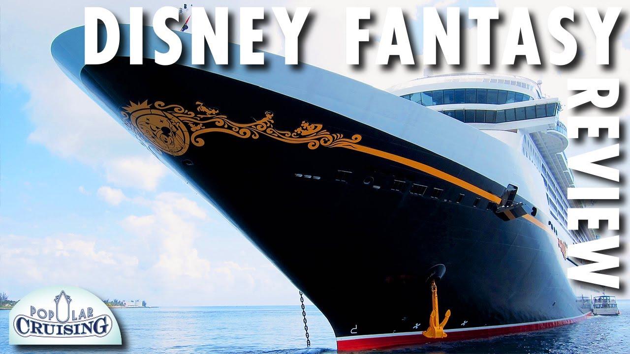Disney Fantasy Tour Amp Review  Disney Cruise Line  Cruise