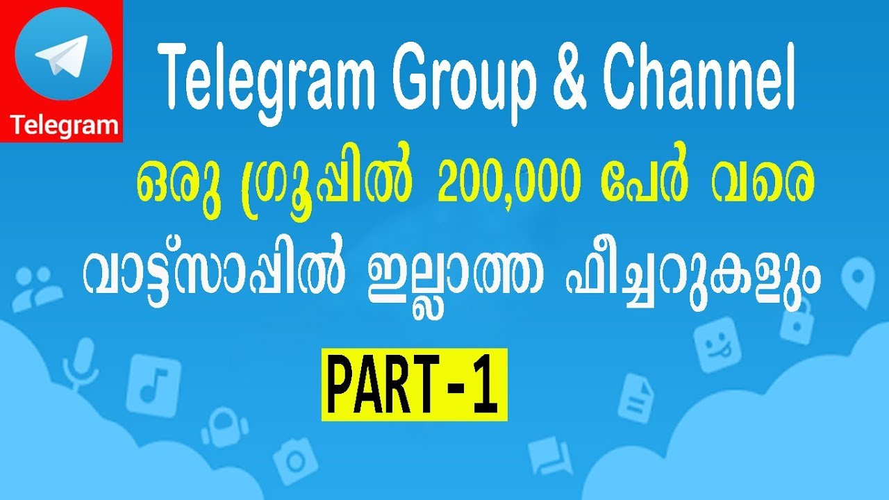 [Part-1] How to create Telegram Group and Channel | Telegram Tutorial  Malayalam | Tech One Malayalam