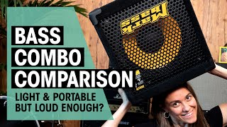 Bass Combo Comparison  Are small bass combos loud enough?   Thomann