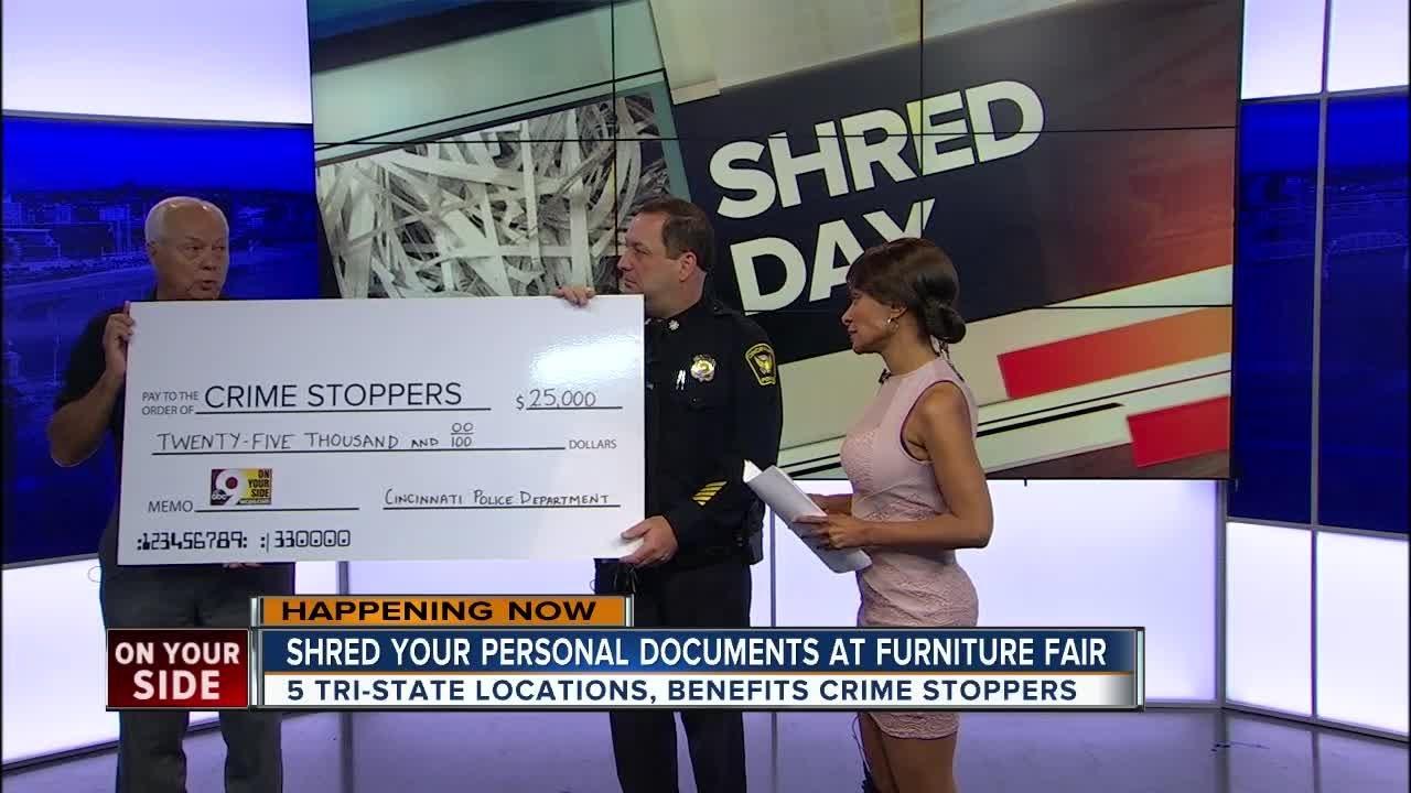 Cincinnati Police Department donates $25,000 to Crime