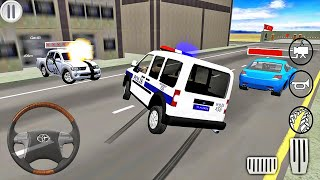 Ford Transit Connect Police Van Driving Simulator - Android Gameplay