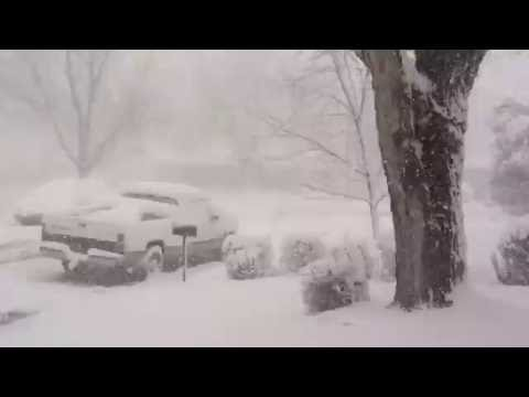 Spring blizzard 2016 Englewood, Colorado part 2