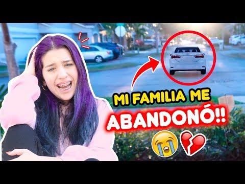 ME ABANDONARON! 24 Horas IGNORANDO A MI FAMILIA 😭 | Leyla Star 💫