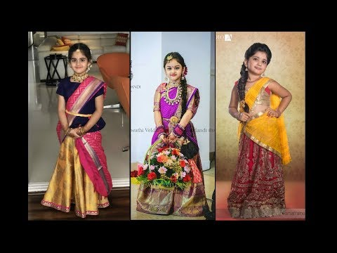 Top 20 Half-Saree(Langa Voni) Designs For Your Little Angel To Standout In A Wedding Party