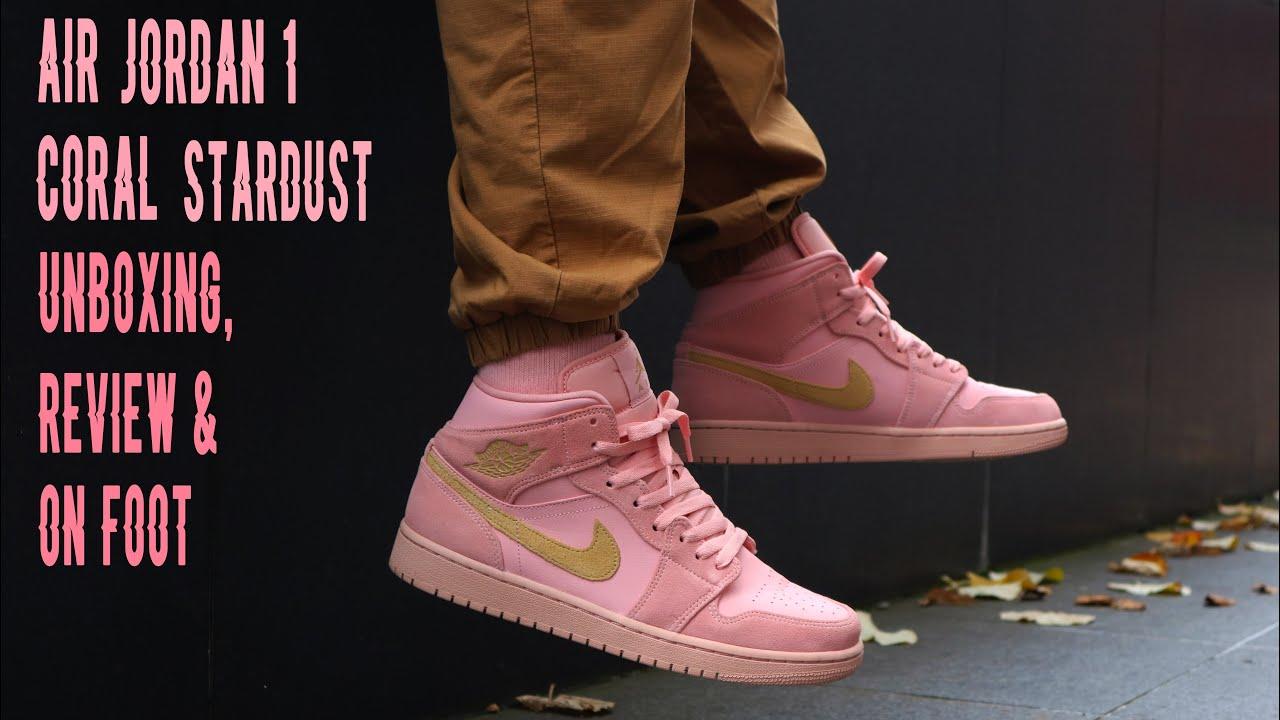 Nike Air Jordan 1 Mid Coral Stardust