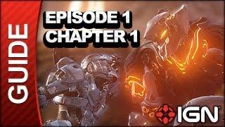 Halo 4 - Spartan Ops Departure Legendary Walkthrough Part 1 - Land Grab