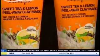 Feeling Beautiful Sweet Tea & Lemon Peel-Away Clay Mask featured on Fox 45 Morning News