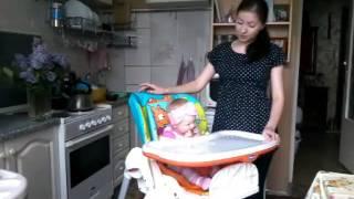 Видео обзор на стульчик для кормления чико полли (Chicco Polly)