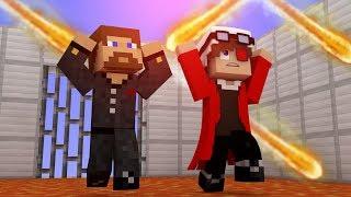 ПОЛ ЭТО ЛАВА + МЕТЕОРИТНЫЙ ДОЖДЬ В МАЙНКРАФТЕ! СМОЖЕМ ЛИ МЫ ВЫЖИТЬ? Minecraft Lava floor
