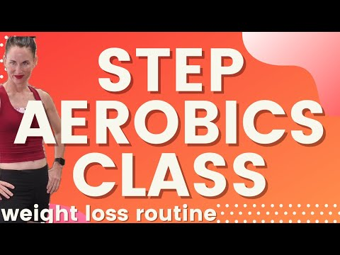 STEP Aerobics Workout for BEGINNERS| Learn Step Aerobics| STEP Workout With Weights| AngieFitnessTV