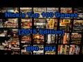 Nick's Top 100 Games [2015]: #90 - #81 - Board Game Brawl