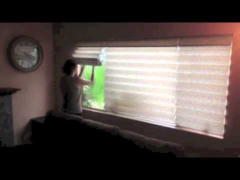 30 Seconds with a Cordless Roman Shade